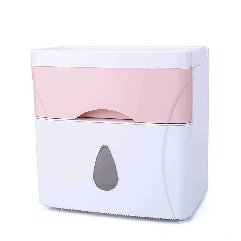 Double-Layer, Punch-Free Tissue Box Cover, Punch-Free, roll Paper, Paper Box Cover, Sanitary Tissue Cover, Tissue Cover.