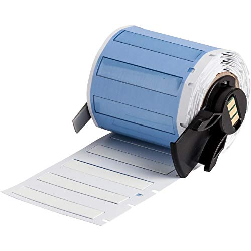 Brady PSPT-187-175-WT Signs, Labels & Markers Make-Your-Own Sign, Label & Marker Blanks Die-cut Sleeves for Printers