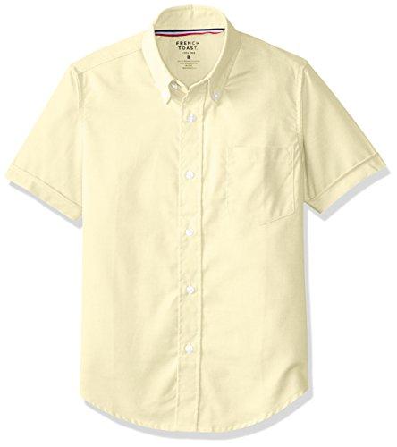 French Toast Little Boys' Short Sleeve Oxford Dress Shirt...
