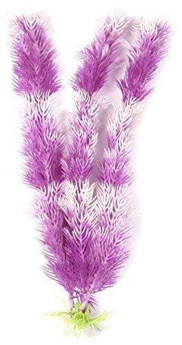 eDealMax Base de cerámica del acuario Artificial de la planta del ornamento, DE 11 pulgadas