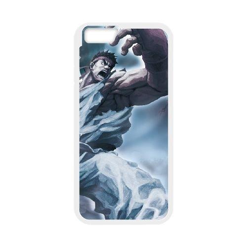 Street Fighter X Tekken 18 coque iPhone 6 Plus 5.5 Inch cellulaire cas coque de téléphone cas blanche couverture de téléphone portable EEECBCAAN03565