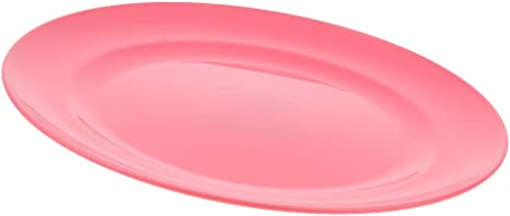 F Fityle Plato Redondo Plástico Vajilla de Cocina para ...