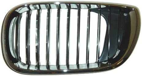 Partslink Number BM1200126 OE Replacement BMW 325//330 Driver Side Grille Assembly