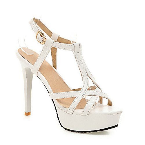 1TO9 femme Sandales Sandales 1TO9 Blanc pour r7Irqwfvx