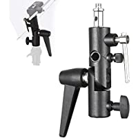 Selens Flash Bracket Shoe Umbrella Holder Light Stand Bracket S-050 for Canon 600EX-RT 580EX II 270EX II/ Nikon SB910 SB900 SB500 SB300/ Yongnuo 600EX-RT 580EXII 560IV etc