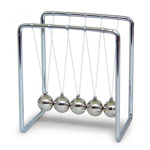Davidsons Collection Magnetic Balance Newtons Cradle Balls,Desk Pendulum Balls Toy for Office Magnetic Pendulum