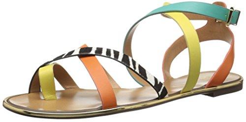 Report Signature Women's Cash Huarache Sandal, Yellow/Mul...