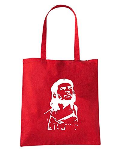 T-Shirtshock - Bolsa para la compra T0870 che guevara comunismo politica Rojo