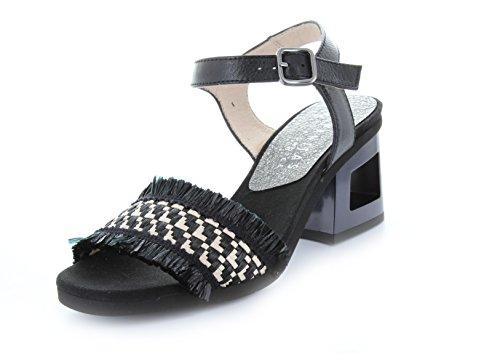 Beige Sandales Noir Hispanitas Noir Femme Pour XvIxwf