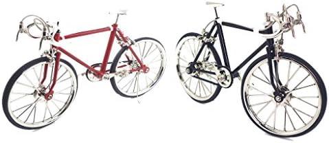 [해외]CUTICATE 2pcs Realistic Bicycle 1:10 Scale 3D Metal Road Bike Model Kit Gift for Bike Model Lover or Collector for Shopwindow Display or Coffee Bar Ornaments / CUTICATE 2pcs Realistic Bicycle 1:10 Scale 3D Metal Road Bike Model Kit...