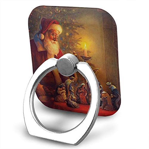 Phone Finger Ring Oil Lamp 360 Degree Rotation Foldable Set Compatible with Most of Smartphones Tablet and Case Sold