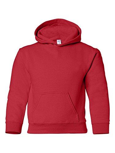Gildan - Heavy Blend Youth Hooded Sweatshirt - 18500B by Gildan