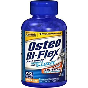 Amazon.com: Osteo BI-FLEX caplets de triple Fuerza, 150 ...