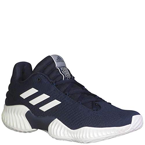 adidas Pro Bounce 2018 Low Shoe Men's Basketball 10 Collegiate Navy-White
