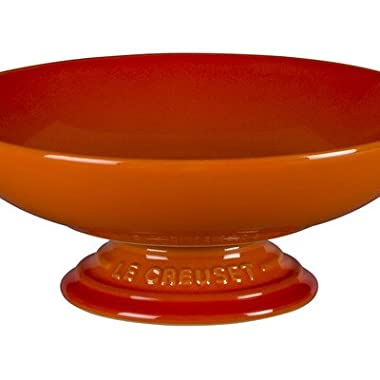 Le Creuset Stoneware Footed Serving Bowl - Flame