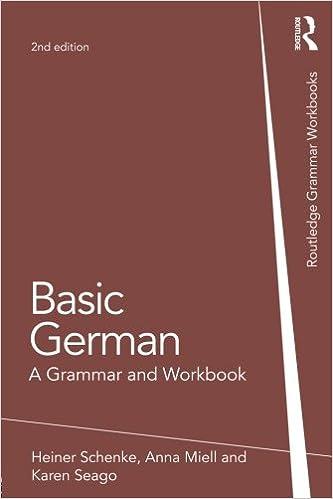 Basic German (Grammar Workbooks)