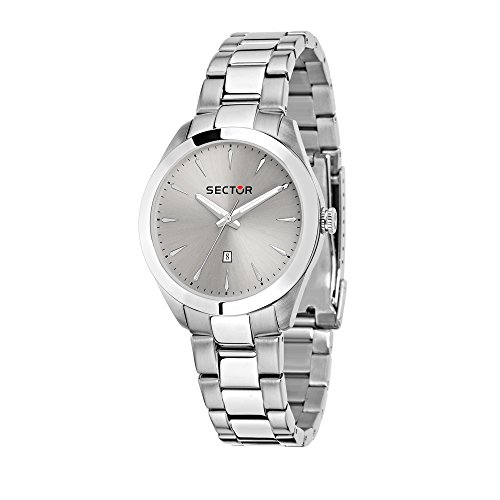 SECTOR Women's '120' Quartz Stainless Steel Fashion Watch, Color Silver-Toned (Model: R3253588516)