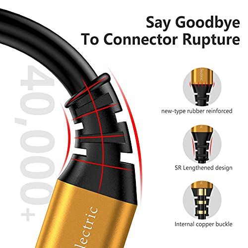 iPhone Charger 10 ft,3-Pack Extra Long Lightning Cable, MFi-Certified iPhone Charger Cable 10 Foot Charging Cord for iPhone 12 11 Pro X XS Max XR/8 Plus/7 Plus/6/6s Plus/5s /5c/iPad Mini Air(Gold)