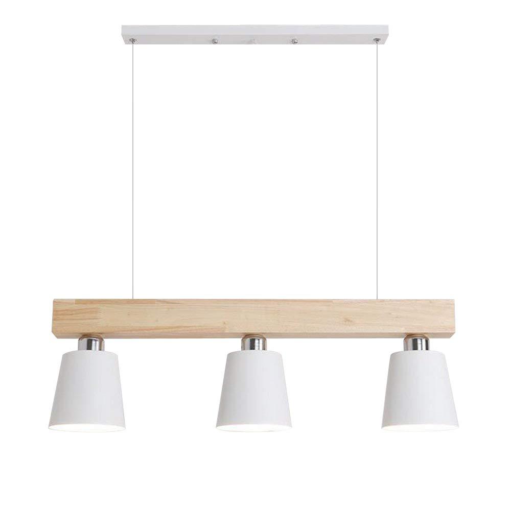 GBLY LED LED LED Pendelleuchte Warmweiß Esstisch Hängeleuchte Holz Hängelampe Pendellampe 5-flammig für Esszimmer Schlafzimmer Wohnzimmer Büro Restaurant Cafe 8efdd7