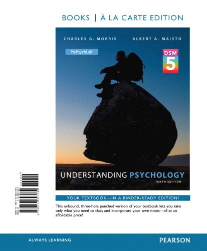 Understanding Psychology with DSMS Update, Books a la Carte Edition (10th Edition)