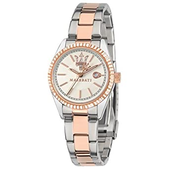 Maserati Womens R8853100504 Competizione Analog Display Quartz Two Tone Watch by Maserati
