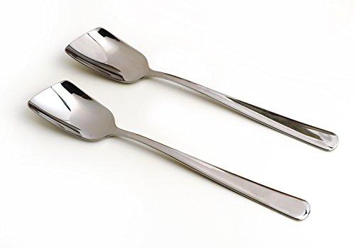 RSVP Endurance Stainless Steel Yogurt Spoons, Set of 2 (Spoon Yogurt)