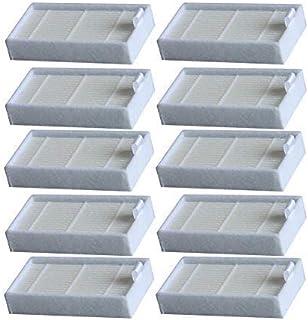 WuYan Accessori per Consumabili Filtro HEPA per aspirapolvere, filtri di Ricambio a Vita per aspirapolvere Robot iLife V3, V3S, V3S PRO, V5, V5S, V5S PRO, Pezzi