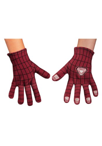 Disguise Marvel The Amazing Spider-Man 2 Movie Child Gloves, One Size (Spiderman Amazing Costumes)