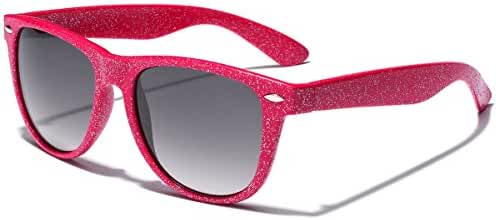 Colorful Retro Fashion Ladies Glitter Sunglasses