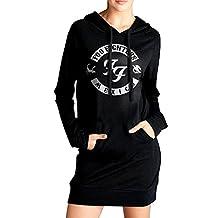 BABA Foo Fighters Women's Long Cool Sweatshirt Black
