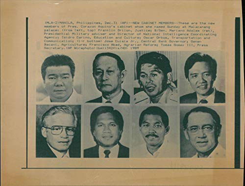 Vintage photo of Franklin Drilon Former President of the Senate of the Philippines
