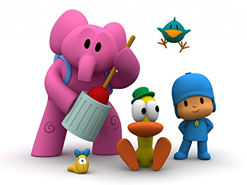 Pocoyo Halloween Toys (Invisible Pocoyo / Noise to my Ears / Baby Bird Sitting / Everyone's)
