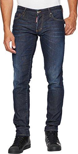 Dsquared2 Men Pants - DSQUARED2 Men's Done Deal Slim Jeans Blue 50 33