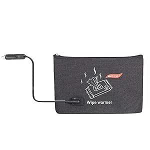 Calentador portátil de toallitas para coche, bolsa de calor para ...