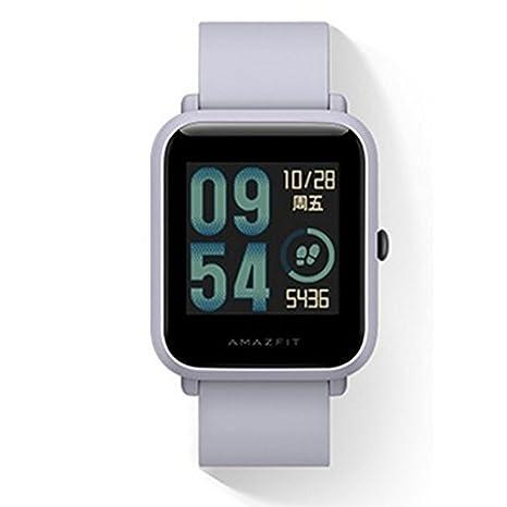 Original Xiaomi Huami Amazfit Bip Smart Reloj Bip GPS Glonass frecuencia cardíaca 45 días en Espera