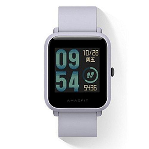 Original Xiaomi Huami Amazfit Bip Smart Reloj Bip GPS Glonass frecuencia cardíaca 45 días en Espera (Gris): Amazon.es: Deportes y aire libre