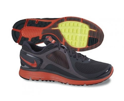 Nike Lunareclipse + Heren Hardloopschoenen Antraciet / Volt / Max Oranje