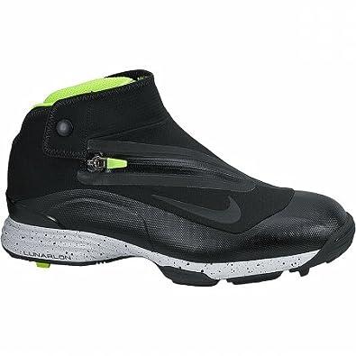 info for ee054 4cd76 NIKE Golf Men s Lunar Bandon - Black Volt  Amazon.co.uk  Shoes   Bags