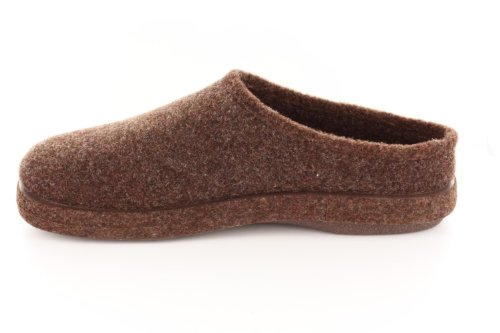 Andres Machado.AM001.AUTHÉNTIQUES chaussons MADE IN SPAIN Unisex.Petites et Grandes Pointures. 26/50 Feutre Marron