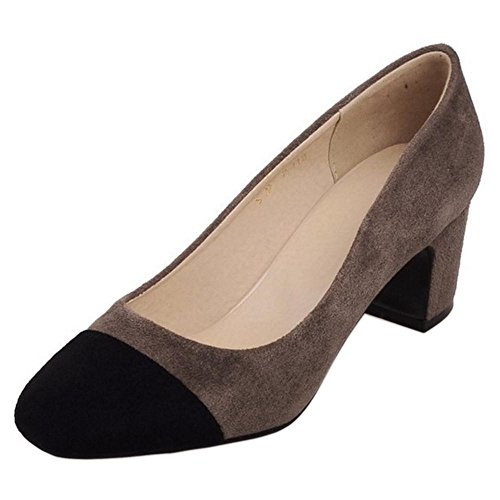 On Slip Shoes TAOFFEN Gray Women's 424 Fashion BwrwvtxE