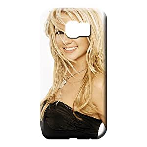 samsung galaxy s6 edge Proof Plastic Skin Cases Covers For phone mobile phone cases Look Britney Spears Smiling