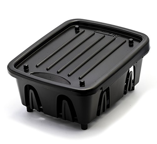 Camco 43512 Black Mini Dish Drainer and Tray