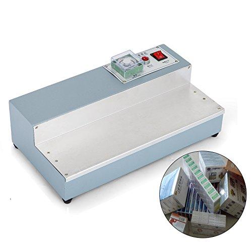 VEVOR CW115 Manual Film Sealing Machine 220V Manual Overwrapper Quick Heat Shrink Cigarette Wrapping Machine for Plastic Film Overwrap (CW115)