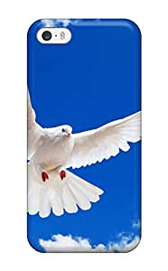 8882721K67600188 Iphone 5/5s Case Cover - Slim Fit Tpu Protector Shock Absorbent Case (white Dove)