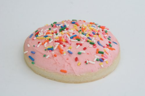 ee Sugar Cookie with Frosting & Sprinkles (Frosted Sugar Cookies)