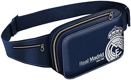 Real Madrid-Riñonera, color azul, diseño del Real Madrid.: Amazon.es: Equipaje
