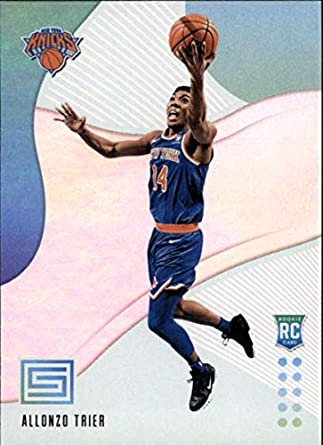 299eb98f432 2018-19 Panini Status NBA Basketball Card  117 Allonzo Trier New York Knicks  Rookies