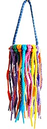 Aglet Heaven Shoelace Bird Toy Play Ring - Large by Aronico
