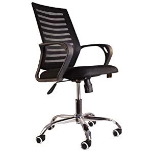 Starry Night Premium Mesh Office Chair for Home Office Work - Black
