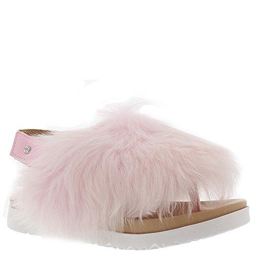 UGG Kids Girls' K Holly Flat Sandal, Seashell Pink, 5 M US Big Kid